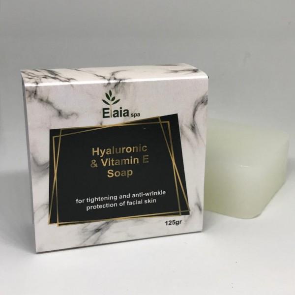 Σαπούνι με Υαλουρονικό & Βιταμίνη Ε